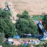 Prekládka oceľového VTL potrubia DN 500 mm z mostu pod rieku Hornád