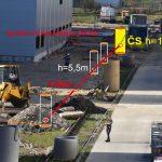 Bezvýkopová výstavba gravitačnej kanalizácie DN 300 -144m